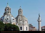 Santa Maria di Loreto Dome Jacopo del Duca Santissimo Nome di Maria Dome Antoine Derizet Trajan's Column Trajan's Forum Rome