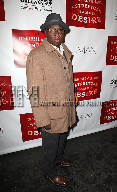 Steve Harris.attending the Broadway Opening Night Performance of 'A Streetcar Named Desire' at the Broadhurst Theatre on 4/22/2012 in New York City.