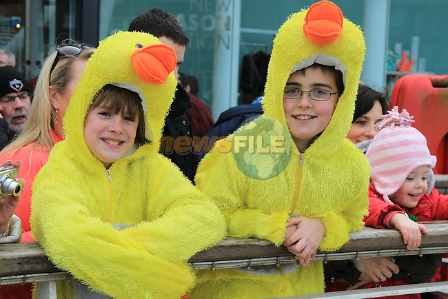 Patrick Farrell and Donal Johnson.at the IWA annual duck race.Picture Fran Caffrey www.newsfile.ie