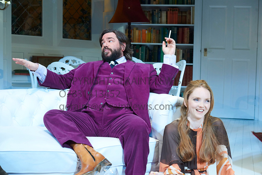The Philanthropist by Christopher Hampton, directed by Simon Callow. With Matt Berry as Braham,  Lily Cole as Araminta,Opens at The Trafalgar Studios Theatre on 14/3/18