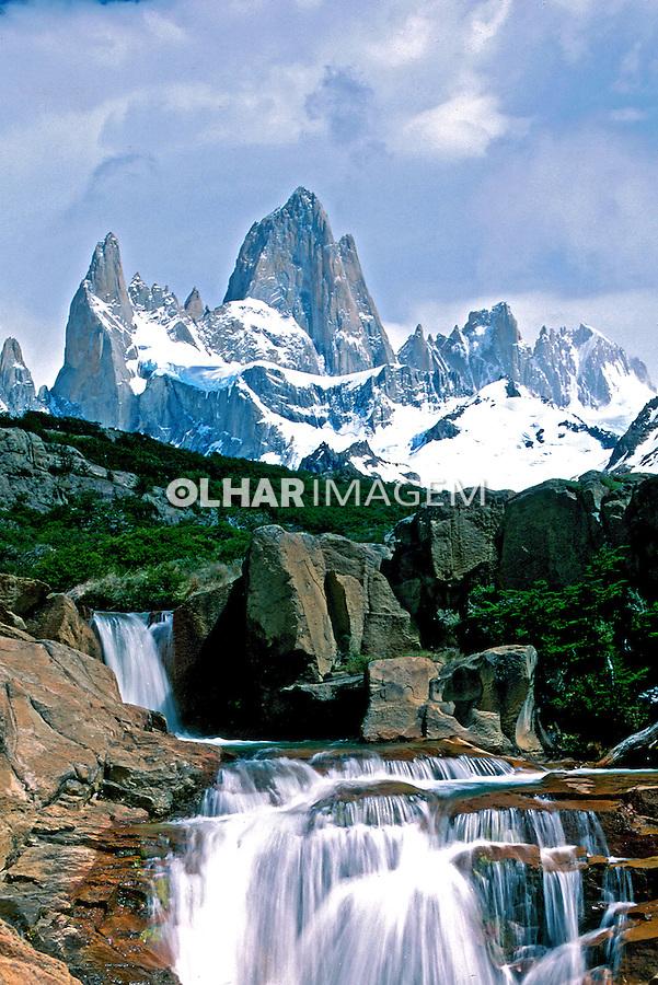 Cordilheira dos Andes na Patagônia. Argentina. 2000. Foto de Vinícius Romanini.