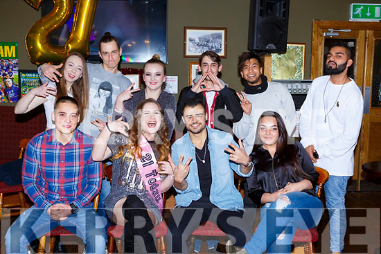 Suzan Zuchowska Killarney celebrated her 21st birthday with her family and friends in the sportsman bar on Thursday night