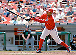 22 July 2007: Washington Nationals infielder Felipe Lopez at bat against the Colorado Rockies at RFK Stadium in Washington, DC. The Nationals defeated the Rockies 3-0 in the final game of their meeting, taking the series three games to one...Mandatory Photo Credit: Ed Wolfstein Photo