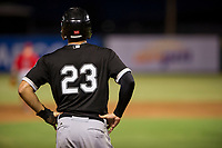 AZL White Sox center fielder Austin Crutcher (23) stands on third base during the game against the AZL Angels on August 14, 2017 at Diablo Stadium in Tempe, Arizona. AZL Angels defeated the AZL White Sox 3-2. (Zachary Lucy/Four Seam Images)