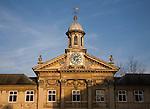 Clock tower Emmanuel College, University of Cambridge, England
