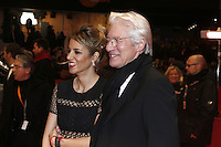 www.acepixs.com<br /> <br /> February 10 2017, Berlin<br /> <br /> Actor Richard Gere and girlfriend Alejandra Silva arriving at the premiere of 'The Dinner' during the 67th Berlinale International Film Festival Berlin at Berlinale Palace on February 10, 2017 in Berlin, Germany.<br /> <br /> By Line: Famous/ACE Pictures<br /> <br /> <br /> ACE Pictures Inc<br /> Tel: 6467670430<br /> Email: info@acepixs.com<br /> www.acepixs.com