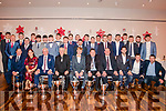 Kilgarvan GAA had a night of celebration honouring their players who won back to back Intermediate Hurling Championships, Div 2 of the County Hurling League and South Kerry Hurling team. Also they had 9 starting team players and 5 subs on the victorious Kenmare/Kilgarvan/Crokes U21 Team who won the County Championship. <br /> Awards were presented to Kilgarvan players on Kerry hurling and Football teams and squads. Awards were also presented to Kilgarvan Player of the year Gearoid Fennessy, Juvenile Club Person of the year Donal McCarthy and Senior Club Person of the year JoAnn Murphy. <br /> Former Kerry star, 8 times All Ireland winner and TV pundit Pat Spillane was the guest of honour. Music was provided by No Strings Attached and DJ Kev Rae, a great night was had by all