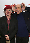"Mark Linn-Baker and F. Murray Abraham attends The New Group presents the New York Premiere Opening Night of David Rabe's for ""Good for Otto"" on March 8, 2018 at the Green Fig Urban Eatery,  in New York City."
