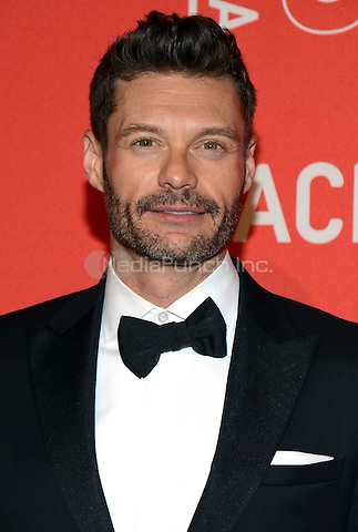 LOS ANGELES, CA - APRIL 18: Ryan Seacrest arrives at the LACMA's 50th Anniversary Gala at LACMA on April 18, 2015 in Los Angeles, California. TWPG/MediaPunch