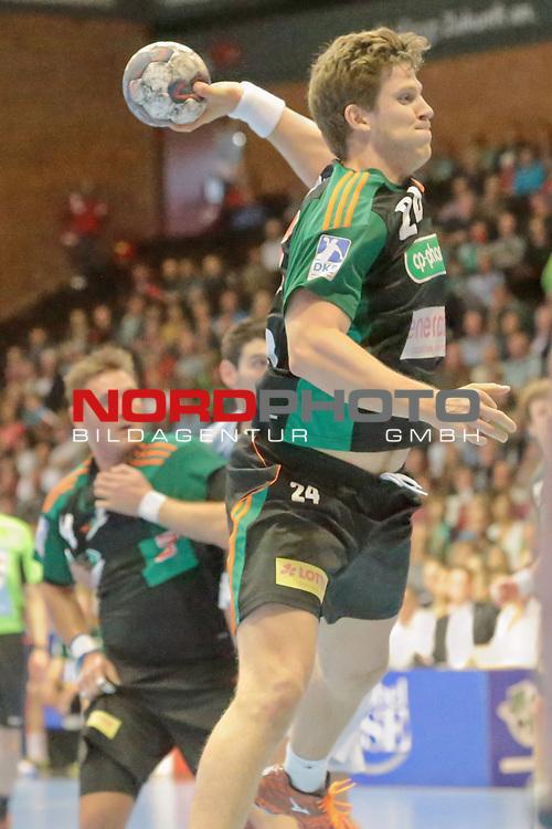 05.99.2015 , Sportarena, Hannover, GER,  DKB Handball-Bundesliga 15/16, TSV Hannover-Burgdorf vs Bergischer HC . <br /> <br /> TSV Spieler Runar Karason #24<br /> <br /> <br /> <br />   Foto &copy; nph / Rust