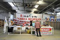 """- Trezzano sul Naviglio (Milano) - Ri-Maflow, fabbrica recuperata e autogestita dagli ex dipendenti. Aprile 2019, """"Incontro Euromediterraneo dell'Economia dei Lavoratori e delle Lavoratrici"""", convegno internazionale delle fabbriche autogestite.<br /> <br /> - Trezzano sul Naviglio (Milan) - Rimaflow, recuperated factory and self-managed by former employees. April 2019, """"Euro-Mediterranean Meeting of the Workers 'and Workers' Economy"""", international conference of self-managed factories."""