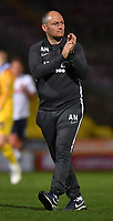Preston North End's Manager Alex Neil applauds the fans after the game<br /> <br /> Photographer Dave Howarth/CameraSport<br /> <br /> The Carabao Cup First Round - Bradford City v Preston North End - Tuesday 13th August 2019 - Valley Parade - Bradford<br />  <br /> World Copyright © 2019 CameraSport. All rights reserved. 43 Linden Ave. Countesthorpe. Leicester. England. LE8 5PG - Tel: +44 (0) 116 277 4147 - admin@camerasport.com - www.camerasport.com