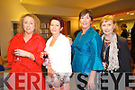 Enjoying the  Fashion show in aid of MS Ireland in Ballyroe Hotel on Saturday Pictured  Mary B. Lenihan, Maureen Murphy, Fiona Griffin, Marian O'Reilly.
