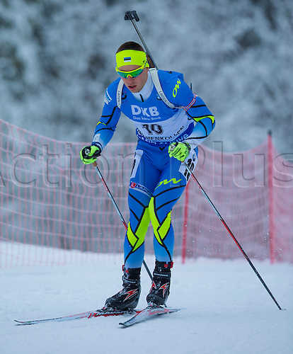 05.03.2016. Oslo Holmenkollen, Oslo, Norway. IBU Biathlon World Championships. Kalev Ermits of Estonia  competes in the men 10km sprint competition during the IBU World Championships Biathlon in Holmenkollen Oslo, Norway.