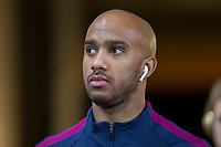 Fabian Delph of Manchester City arrives for the EPL - Premier League match between Swansea City and Manchester City at the Liberty Stadium, Swansea, Wales on 13 December 2017. Photo by Mark  Hawkins / PRiME Media Images.