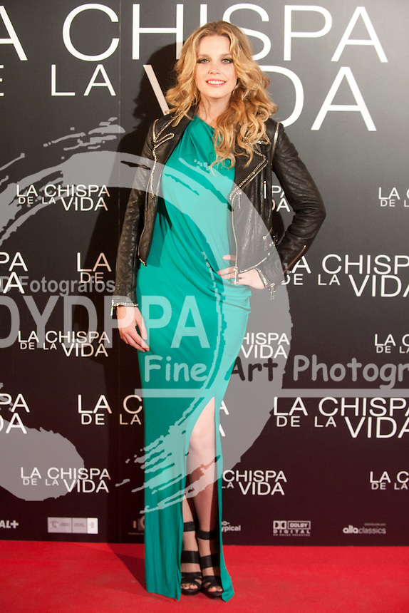"12/01/2012. Callao Cinema. Madrid. Spain. ""La chispa de la vida"" premiere. Carolina Bang"