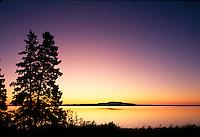 Sunrise Mt. Desert Island, from Blue Hill, ME