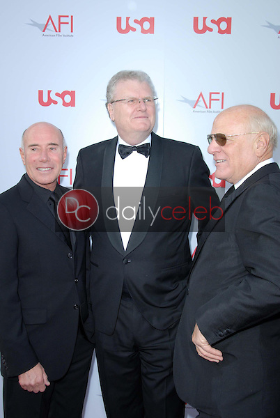 David Geffen and Sir Howard Stringer<br />