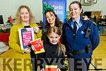 Roisin and Michelle Kerins, Javita Jutytagaz and Sgt Eileen O'Sullivan at the ohn Mitchels GAA Club Christmas Market on Saturday