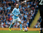 David Silva of Manchester City during the premier league match at the Etihad Stadium, Manchester. Picture date 22nd September 2017. Picture credit should read: Simon Bellis/Sportimage