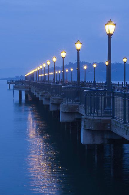 Embarcadero pier in San Francisco waterfront