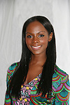 """One Life To Live's Tika Sumpter """"Layla"""" attends Custo Barcelona Fashion Show on February 14, 2010 during Mercedes-Benz Fashion Week Fall 2010 Collections at Bryant Park, New York City, NY. (Photo by Sue Coflin/Max Photos)"""
