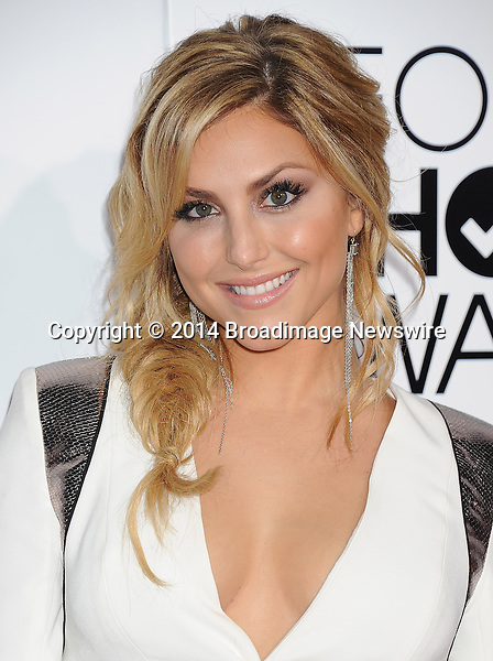 Pictured: Cassie Scerbo<br /> Mandatory Credit &copy; Gilbert Flores /Broadimage<br /> 2014 People's Choice Awards <br /> <br /> 1/8/14, Los Angeles, California, United States of America<br /> Reference: 010814_GFLA_BDG_126<br /> <br /> Broadimage Newswire<br /> Los Angeles 1+  (310) 301-1027<br /> New York      1+  (646) 827-9134<br /> sales@broadimage.com<br /> http://www.broadimage.com