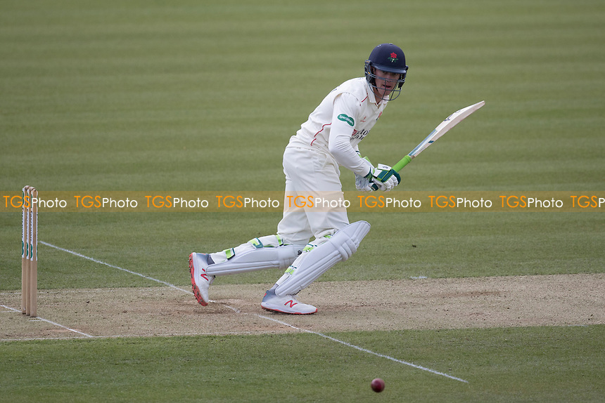 Keaton Jennings of Lancashire CCC pushes of his legs for a single during Middlesex CCC vs Lancashire CCC, Specsavers County Championship Division 2 Cricket at Lord's Cricket Ground on 12th April 2019