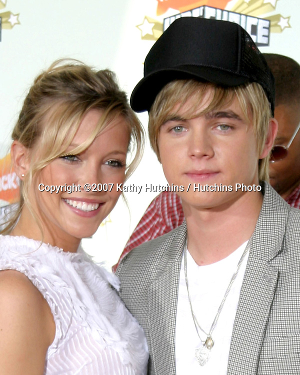 Katie Cassidy & Jesse McCartney.Nickelodeon's 20th Annual Kid's Choice Awards.UCLA Paley Pavillion.Westwood, CA.March 31, 2007.©2007 Kathy Hutchins / Hutchins Photo....
