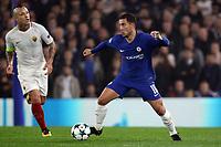 Eden Hazard Chelsea <br /> Londra 18-10-2017 Stamford Bridge Football Champions League 2017/2018 Chelsea - Roma <br /> Foto Gino Mancini / Insidefoto