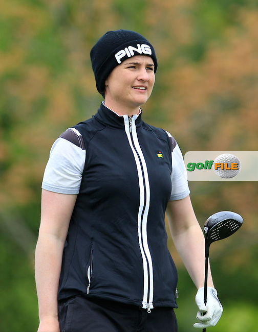 Danielle McVeigh (RCD Ladies) on the 7th tee during Round 3 of the Irish Women's Open Strokeplay Championship at Dun Laoghaire Golf Club on Sunday 24th May 2015.<br /> Picture:  Thos Caffrey / www.golffile.ie