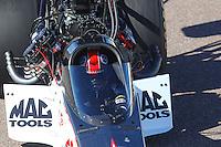 Feb 25, 2017; Chandler, AZ, USA; NHRA top fuel driver Steve Torrence during qualifying for the Arizona Nationals at Wild Horse Pass Motorsports Park. Mandatory Credit: Mark J. Rebilas-USA TODAY Sports