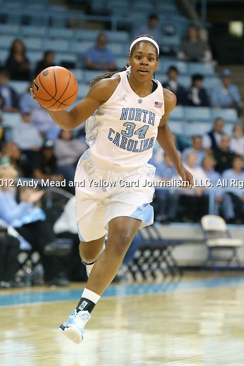 1d9e48c9f5f 24 November 2012  North Carolina s Xylina McDaniel. The University of North  Carolina Tar Heels