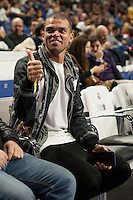 Real Madrid´s Pepe during 2014-15 Euroleague Basketball match between Real Madrid and Galatasaray at Palacio de los Deportes stadium in Madrid, Spain. January 08, 2015. (ALTERPHOTOS/Luis Fernandez) /NortePhoto /NortePhoto.com