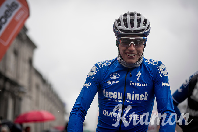 Enric MAS (ESP/Deceuninck-Quick Step) on the start line<br /> <br /> 105th Liège-Bastogne-Liège 2019 (1.UWT)<br /> One day race from Liège to Liège (256km)<br /> <br /> ©kramon