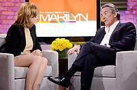 Toronto (ON) CANADA - Jan 17 2011 - Hand Out Photo - Marilyn Denis (L) chats with Eric Braeden  (R) - everyone's favourite leading man who plays Victor Newman on THE YOUNG AND THE RESTLESS - on Monday's THE MARILYN DENIS SHOW