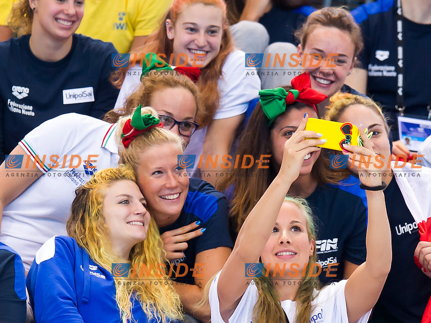 Team ITA<br /> London, Queen Elizabeth II Olympic Park Pool <br /> LEN 2016 European Aquatics Elite Championships <br /> Swimming<br /> Men's 1500m freestyle final  <br /> Day 10 18-05-2016<br /> Photo Giorgio Perottino/Deepbluemedia/Insidefoto