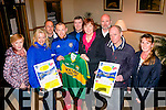 Fitness<br /> ---------<br /> Pictured Monday evening last in the kerin's O'Rahilly's GAA clubhouse,Tralee were members of the club launching their up coming 5km run/walk at 5pm Easter Monday,Front L-R Marie Nix,Christine Curtin,Barry John Keane,Bernice Hoffman,James Hayes and Yvonne Quill,back L-R Frank Mclaughlin,David Collins and Frank O'Connor