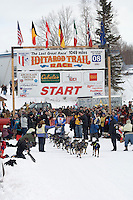 Martin Buser Willow restart Iditarod 2008.