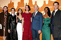 LOS ANGELES - DEC 3:  Christiane Paul, Sara Serraiocco, Nazanin Boniadi, Olivia Williams, JK Simmons, Betty Gabriel, Harry Lloyd at the Counterpoint Season 2 Premiere at the ArcLight Hollywood on December 3, 2018 in Los Angeles, CA