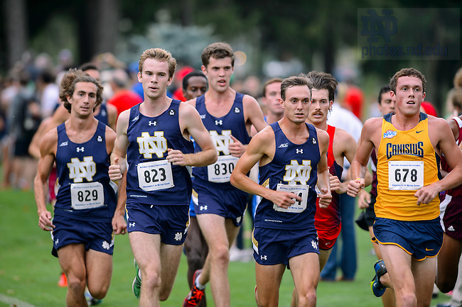 Sept. 18, 2015; Men's Cross Country National Catholic Championships at Burke Golf Course. (Photo by Matt Cashore/University of Notre Dame)