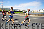 Robert Purcell and Michael O'Regan pictured at the Rose of Tralee International 10k Race in Tralee on Sunday.