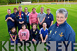Joan O'Connor Chairperson of the Kerry Stars with her athletes at training Monday night front row l-r: Niamh Cronin, Martina Healy, Maire Murphy, John Paul Doyle. Back row: Eoin O Cearna, Mary O'Leary, Cliona Palmer, Martina McCarthy, Kay O'Connor, Joe Buckley and Joan Broderick