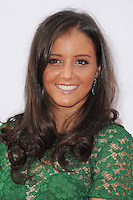 NON EXCLUSIVE PICTURE: PAUL TREADWAY / MATRIXPICTURES.CO.UK<br /> PLEASE CREDIT ALL USES<br /> <br /> WORLD RIGHTS<br /> <br /> British tennis player Laura Robson attending the WTA Pre Wimbledon Party, at London's Kensington Roof Gardens.<br /> <br /> 20th JUNE 2013<br /> <br /> REF: PTY 134225