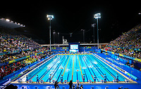 Picture by Alex Whitehead/SWpix.com - 10/04/2018 - Commonwealth Games - Swimming - Optus Aquatics Centre, Gold Coast, Australia - A General View (GV).