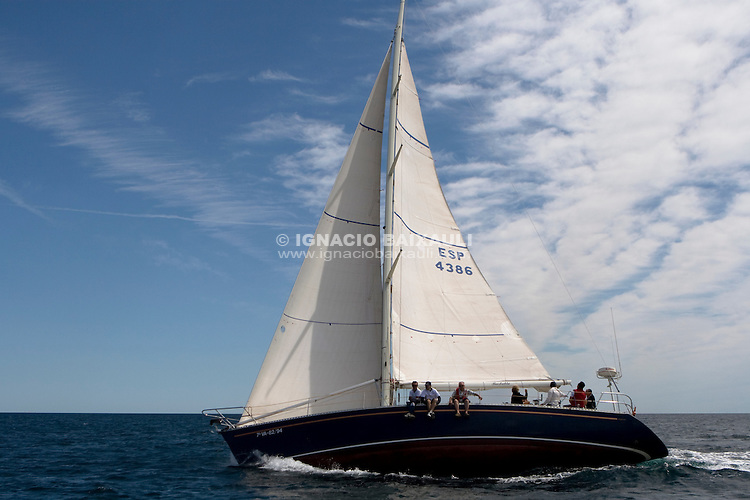 Barbablu .I REGATA CAP I CUA, Oliva-Canet d'en Berenguer. 6-7- Junio 2009