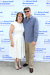 LOS ANGELES - MAY 15: Ilyanne Morden Kichaven, Michael Kichaven at The Actors Fund's Edwin Forrest Day celebration at a private residence on May 15, 2016 in Sherman Oaks, California