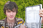 Magnificent Seven: Stephen Murphy, Rathmore, who received 7 As and a B in his Leaving Cert results on Wednesday at Pobal Scoil Sliabh Luachra..
