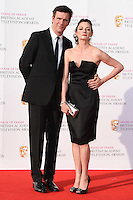 Jack Davenport and Michelle Gomez<br /> at the 2016 BAFTA TV Awards, Royal Festival Hall, London<br /> <br /> <br /> &copy;Ash Knotek  D3115 8/05/2016