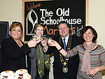 Susan Drumm Manager of Laurence Centre, Ciara Nixon marketing Manager for the Laurence Centre, Mayor of Drogheda Paul Bell and Lorraine Murphy Market organizer pictured at the opening of the Old Schoolhouse market on Laurence street . Photo:Colin Bell/pressphotos.ie